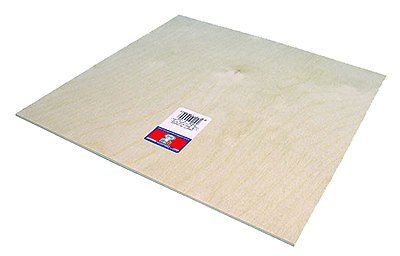 Midwest Products 5336 Birch Plywood, 1/2 x 12 x 24-Inch
