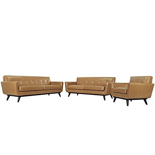 America Luxury - Sofa Modern Urban Contemporary 3 pcs Leathe