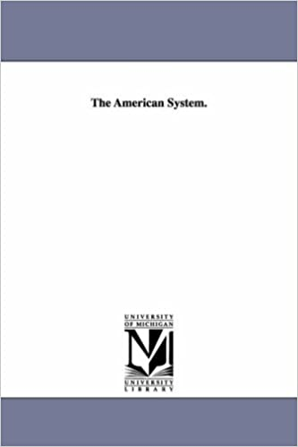 Book The American system.