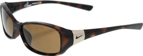 Nike Siren Sunglasses (Tortoise Frame, Brown - Nike Womens Sunglasses