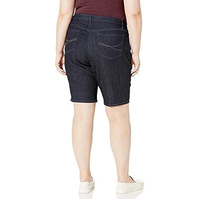 Riders by Lee Indigo Women's Plus-Size Comfort Waist Bermuda Short at Women's Clothing store