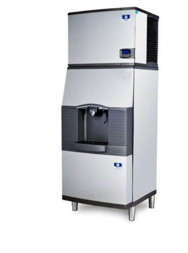 Manitowoc ID-0302A-SFA-291 310 Lb Air-Cooled Full Cube Ice Machine w/ SFA-291 Hotel Dispenser (Certified (310 Lb Ice Machine)