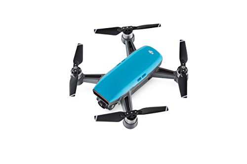 DJI CP.PT.000902 Spark Palm launch, Intelligent Fly More Combo, Sky Blue