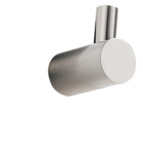 Spa 1 Robe Hook - Alno A7080-SN Spa 1 Modern Robe Hooks , Satin Nickel