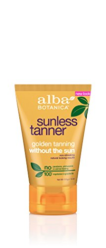 Alba Botanica Sunless Tanning Lotion, 4 Ounce