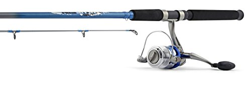 South Bend Hurricane Bluefin Inshore Spinning Combo (2-Pi...