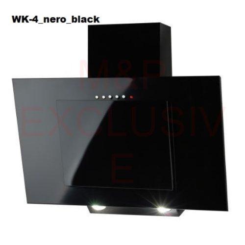En forma de chimenea para campana extractora 60 cm en color negro Akpo
