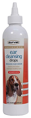 Durvet-Pet D-Naturals Ear Cleansing Drops- Clear 8 Ounce