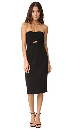 Buy black halo cut out dress - 2