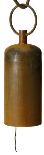 Patina Garden Bell - Patina Products B345 6 Inch Solid Patina Bell