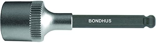 6-Inch Bondhus 43810 3//16-Inch ProHold 3//8-Inch Drive Socket Ball End Bit with ProGuard Finish