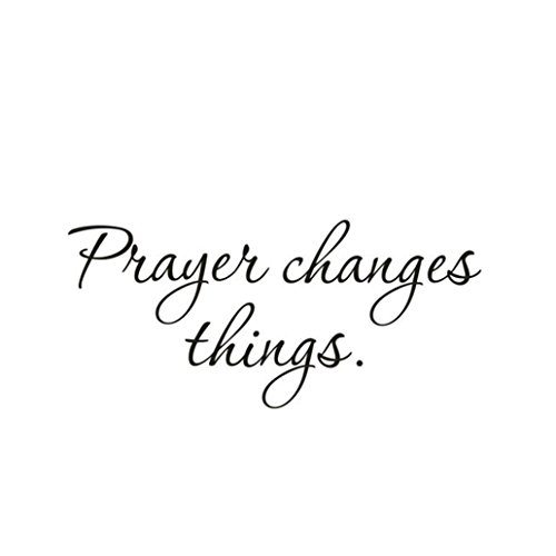 Iusun Removable Prayer Changes Things Wall Stickers Art Decal Home Room Decor ()