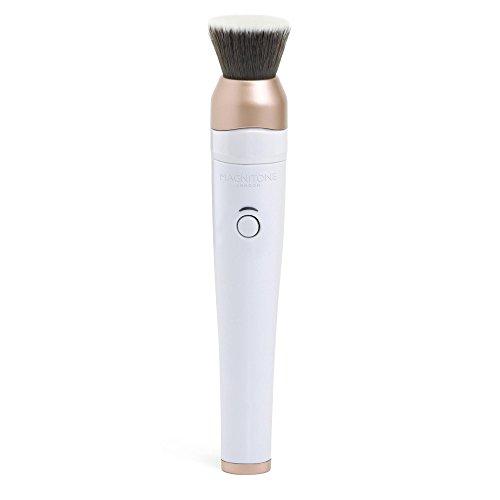 Magnitone BlendUp Vibra-Sonic Makeup Blending Brush (White)