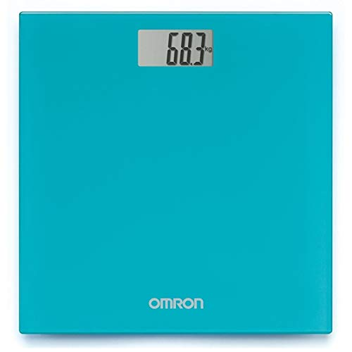 Omron HN 289 (Blue) Automatic Personal Digital Weight Scale With Large LCD Display and 4 Sensor Technology For Accurate…