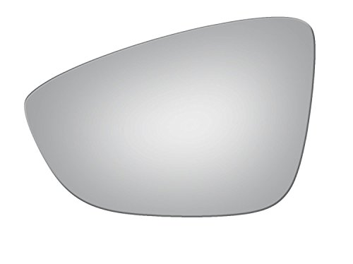 2009-2016 VOLKSWAGEN CC, 2009-2016 VOLKSWAGEN EOS, 2012 VOLKSWAGEN PASSAT Driver Side Power Replacement Mirror Glass