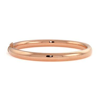 "Or Rose 14 carats 6,3 mm-jonc-JewelryWeb 7 """