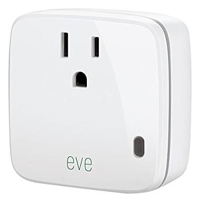 Elgato Eve Energy, Switch & Power Meter with Apple HomeKit Technology, Bluetooth Low Energy