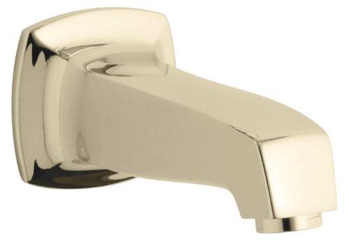 Kohler K-16246-AF Margaux Wall-Mount, Non-Diverter Bath Spout, Vibrant French Gold
