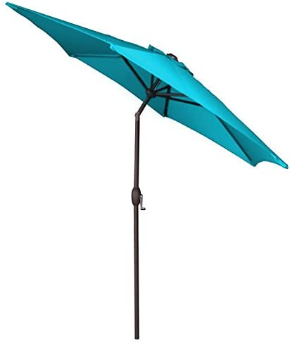Panama Jack PJO-6001-TEAL Outdoor Patio Umbrella
