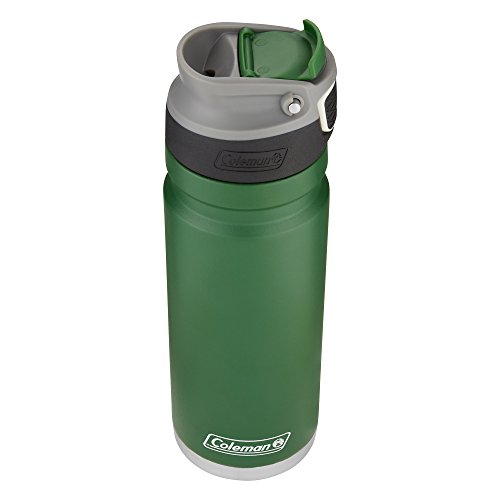 Coleman ReCharge AUTOSEAL Insulated Stainless Steel Thermal Mug, Heritage Green, 20 oz. ()