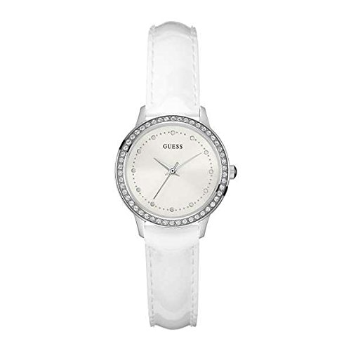 Chelsea Gold Bracelet - Guess Chelsea Womens Analog Quartz Watch with Leather Bracelet W0648L5