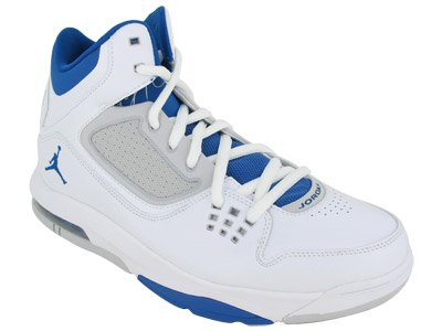 8c2fc205ca7743 Jordan Air Flight 23 RST White Neutral Grey Military Blue Mens Basketball
