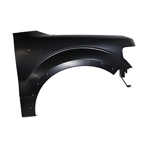CAPA Fender Front Passenger Right RH Side Steel Primered w/holes for wheel opening molding and antenna
