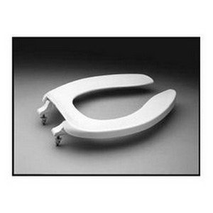 TOTO SC534#01 Elongated Commercial Toilet Seat, Cotton White