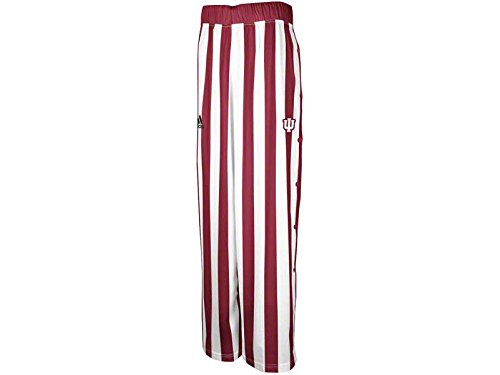 (Adidas Indiana Hoosiers Youth Candy Stripe Snap Pants (Youth Large))