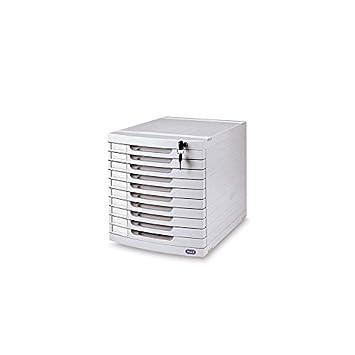Schubladenbox Ablage Mit Abschliessbarer Buroablage Box 10 Facher B