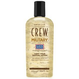 (American Crew Military Edition Light Hold Texture Lotion, 8.40 oz)