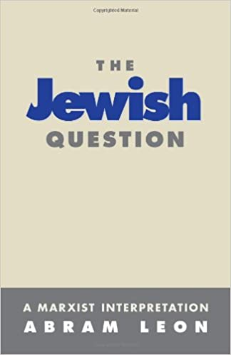 Image result for Abram Leon The jewish question images