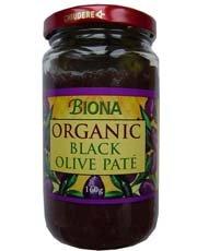 Biona Organic Black Olive Pate 160G
