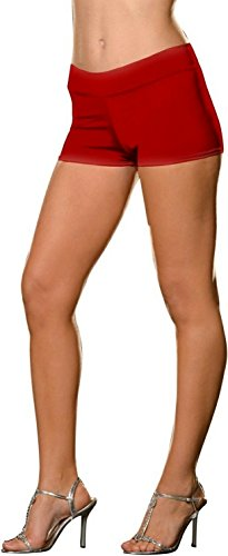 Roxie Hot Shorts Adult Underwear Red - Plus Size 1X/2X - Adult Roxie Hot Shorts