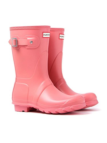 Pink Women's Wellies Short Original ‑ Hunter UqOBTx