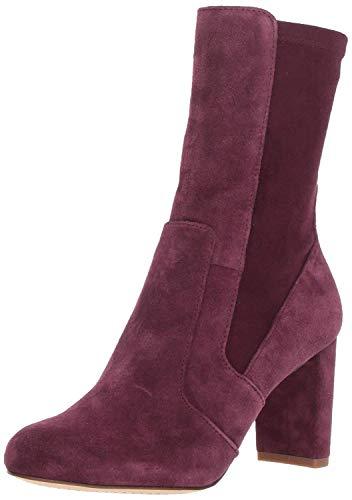 Splendid Women's Charlie Mid-Calf Boot, Aubergine Suede, 5 M