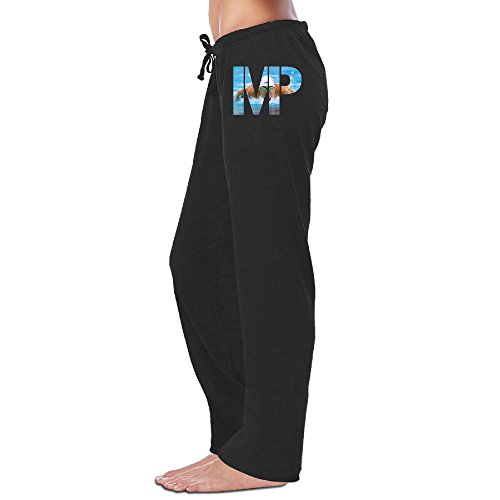 Bro-Custom MP Golden Michael Phelp Women Sweatpants M Black (Kitchenaid Mixer Bolt compare prices)