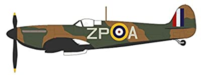 Hobby Master 7813 Spitfire MkI 'Sailor' Malan No 74 Sqn 1/48 Scale Diecast Model