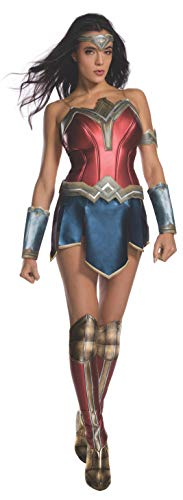 Secret Wishes Women's Wonder Woman Secret Wishes Costume With Boot Tops, As/Shown, X-Small