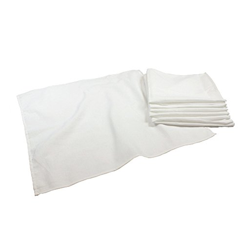 Osocozy Birdseye Flat Cloth Diapers - Bleached (Dozen) ()