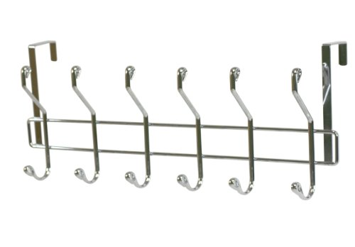Home Basics 6-Hook Over The Door Hanging Rack by Home Basics