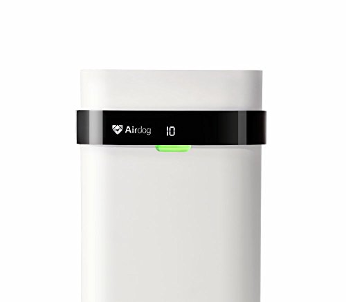 Airdog X5 Non-Filter Air Purifier for Allergy and Asthma,14.6nm/0.0146 microns Level/Beyond HEPA, Ultra Quiet, Washable&Energy-saving by Airdog