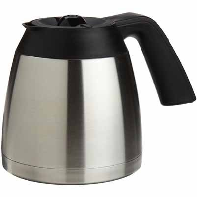 10 cup stainless steel coffee pot - 7