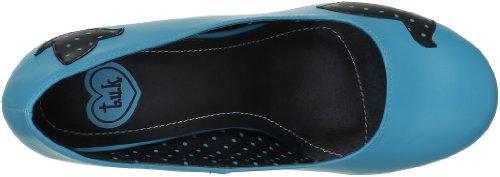 TUK Sweet Jane - Zapatos de Vestir de material sintético Mujer azul - Bleu (Turquoise/Black )