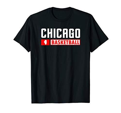 Chicago Basketball T-Shirt, Illinois Hoops Shirt