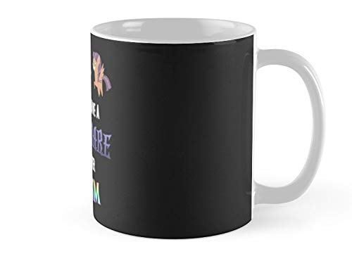 Army Mug My Little Pony - MLP - You Can't Have a Nightmare if you Never Dream Mug - 11oz Mug - Features wraparound prints - Dishwasher safe - Made from Ceramic - Best gift for family friends -