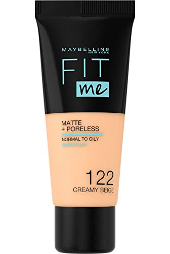 Maybelline Fit Me Matte & Poreless Foundation 122 Creamy Beige 30ml
