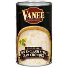 Vanee Condensed New England Style Clam Chowder - 51 oz. can, 12 per case