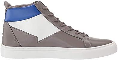 GUESS Men's Bari Sneaker Grey 7 M US: Buy Online at Best