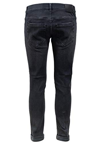 36 Jeans DONDUP SIZE NERO UP232DS0198UT32N cod Uomo DONDUP OO0ZxF